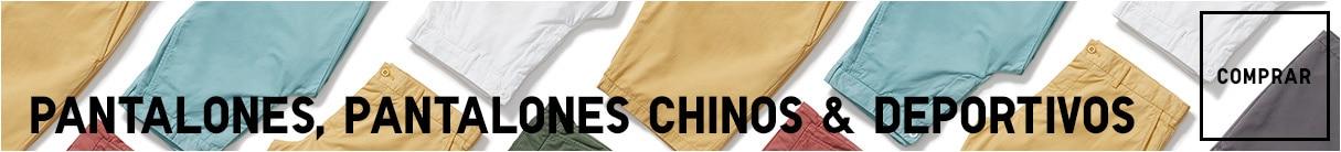 Pantalones, Chinos y pantalones deportivos