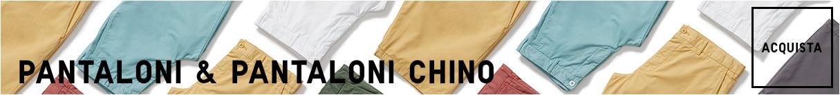 Pantaloni, Chino e pantaloni sportivi