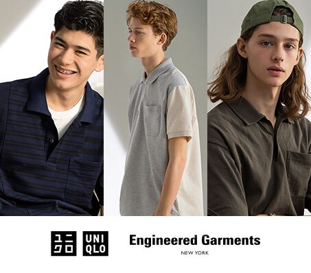UNIQLO UND ENGINEERED GARMENTS POLOSHIRT-KOLLEKTION 2019
