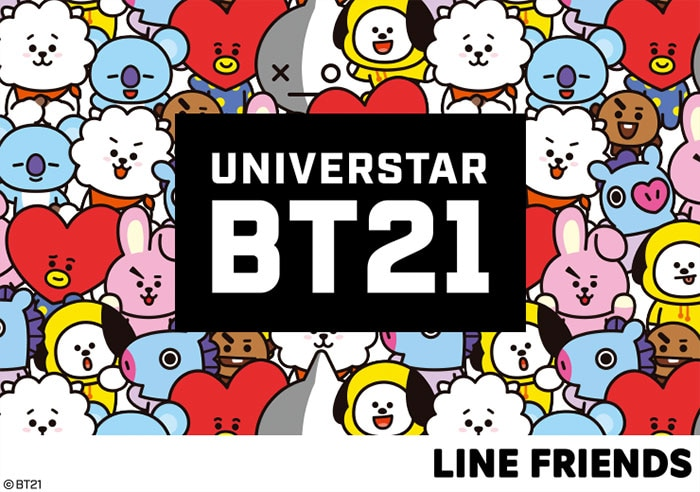 UNIVERSTAR BT21 | DISPONIBLE