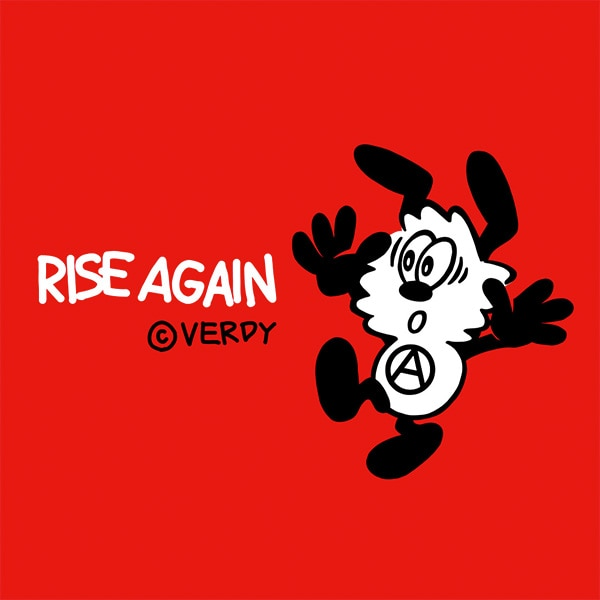 Rise Again by Verdy logo