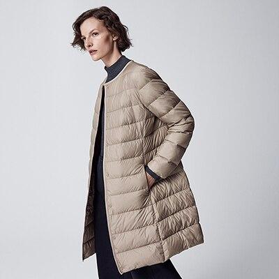 ultra light down compact coat
