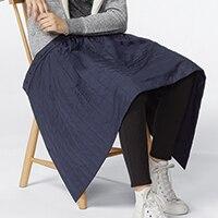 Windproof Warm Lined Wrap Skirt