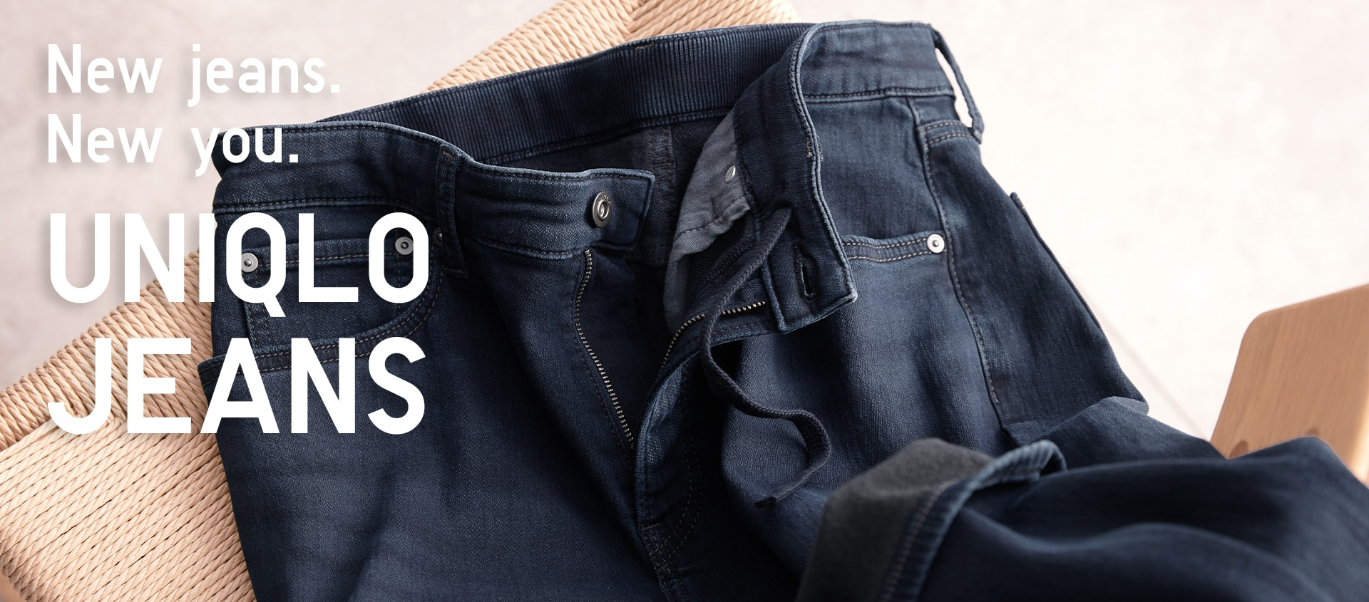 uniqlo jeans. new jeans. new you
