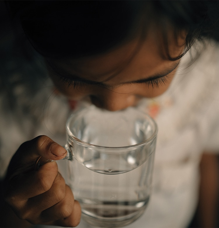 Charity Water - A glass of clean water