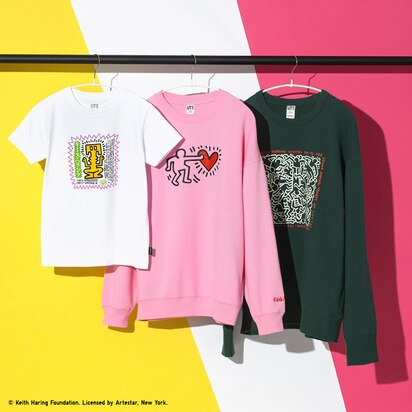 Keith Haring Life of Party Sweatshirts