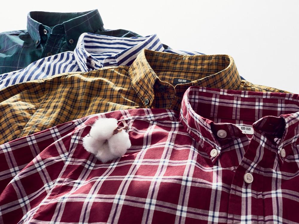men extra fine cotton long-sleeve shirt
