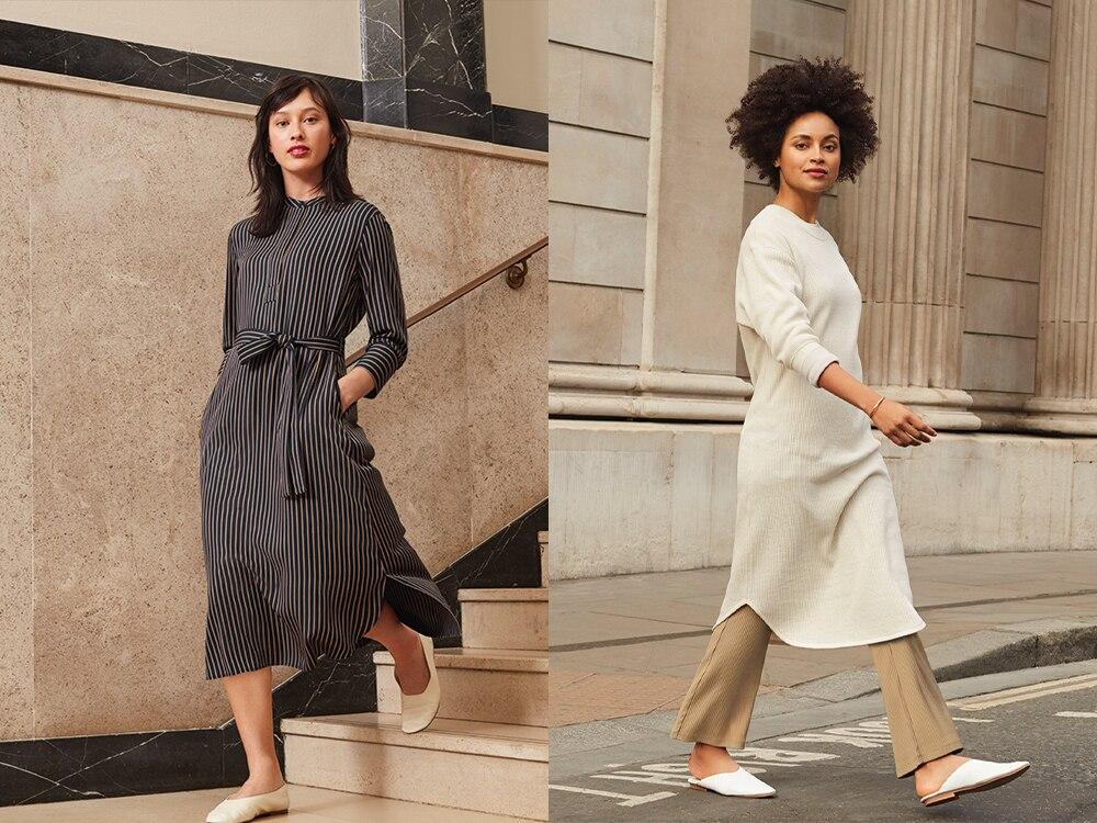 women rayon 3/4 sleeve dress