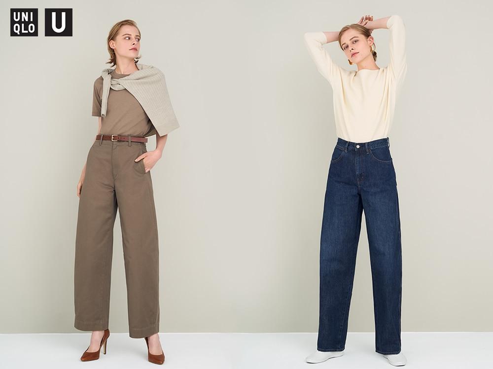 women u wide fit curved jeans