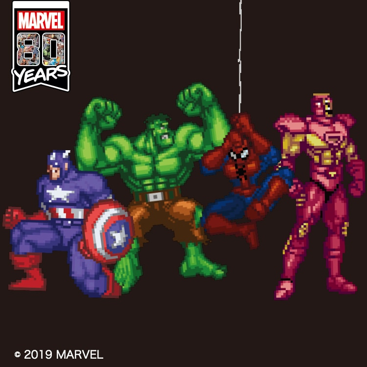 MARVEL RETRO GAMING