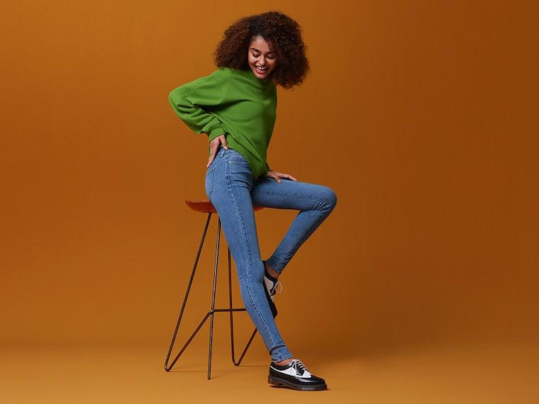 women ultra stretch jeans