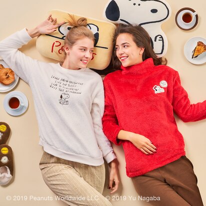 Peanuts x Yu Nagaba Fleece Sets