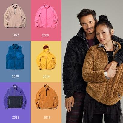 Fluffy Yarn Fleece Full-Zip Jacket
