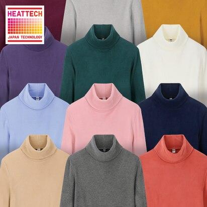 HEATTECH Fleece Turtleneck T-Shirts