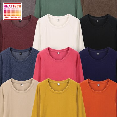 HEATTECH Stretch Fleece Crewneck T-Shirts