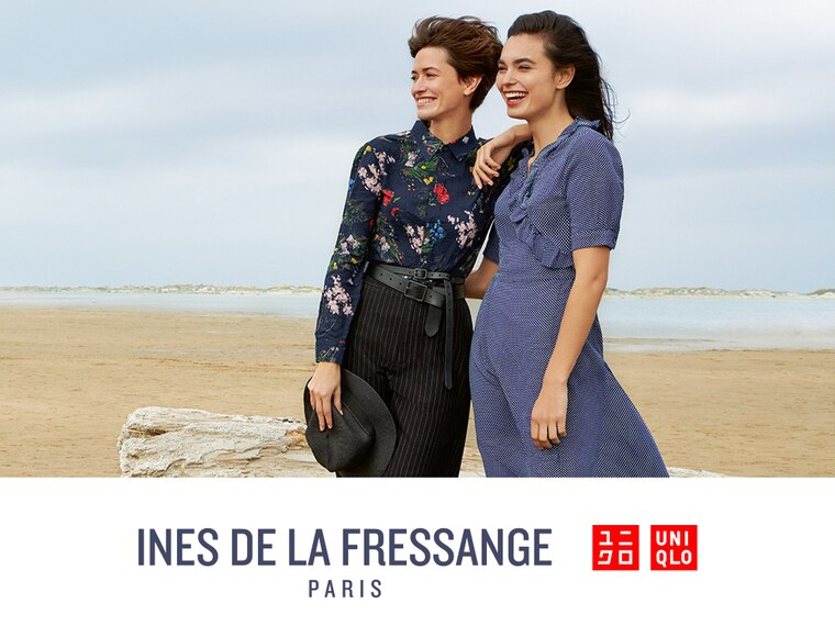 ARRIVING 1/23 MID MORNING ET: NEW INES DE LA FRESSANGE