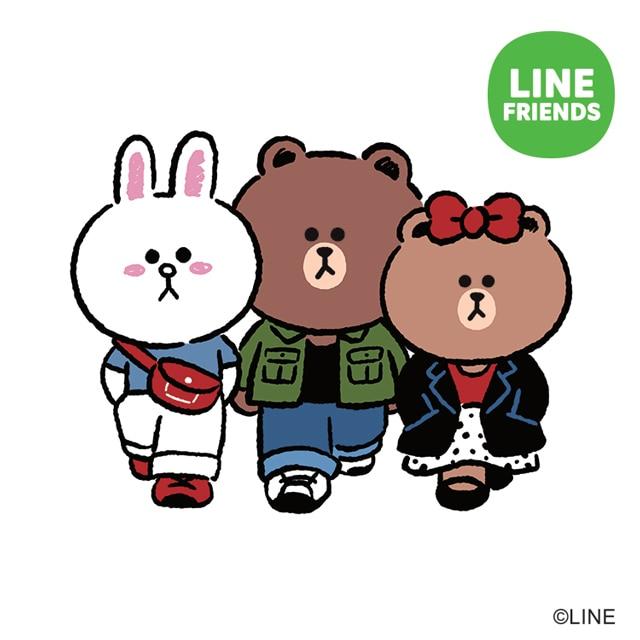 LINE_FRIENDS tile