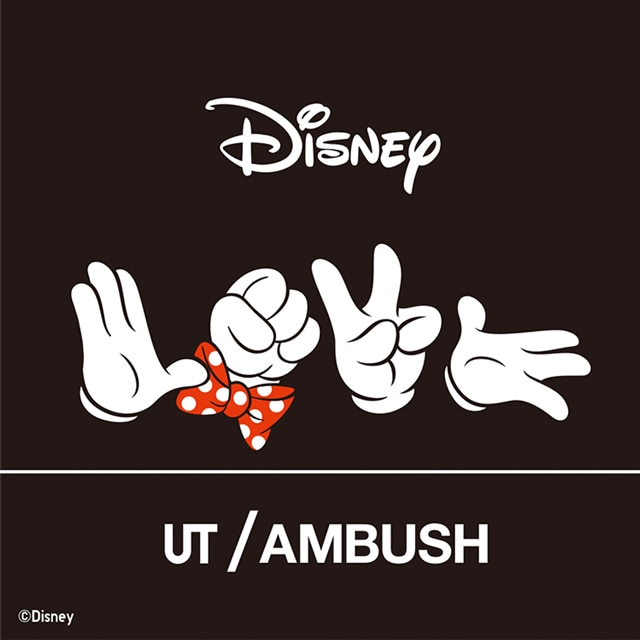 DISNEY LOVE MINNIE MOUSE COLLECTION by AMBUSH