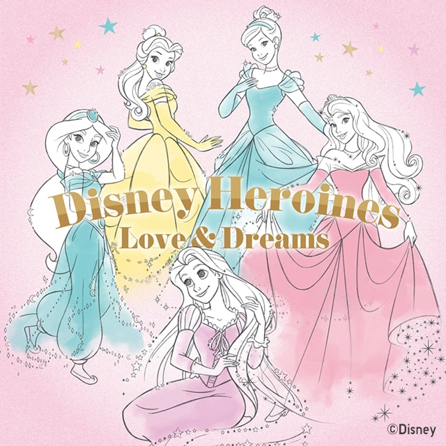 Disney_Heroines_Love_&_Dream UT Tile