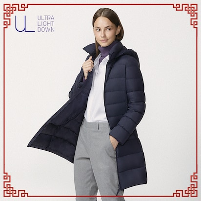 Ultra Light Down Hooded Coats