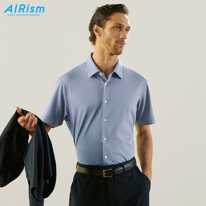 AIRism Short-Sleeve Polo Shirts
