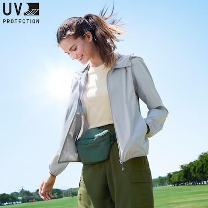UV Protection Pocketable Parkas