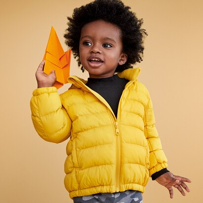 Baby Light Warm Padded Parka