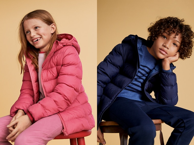 light warm padded parkas