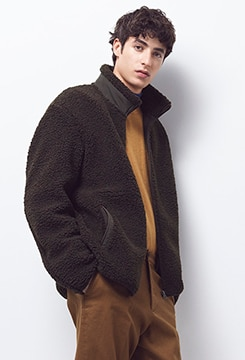 Pile-Lined Fleece Jacket image