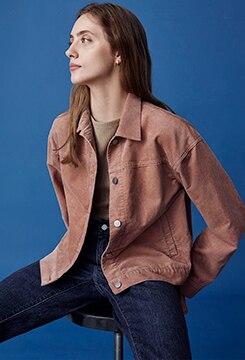 Corduroy Oversize Jacket image