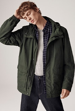 Jersey Lined Field Parka image