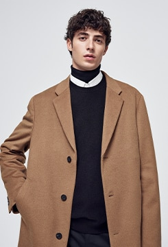 Wool Cashmere Chesterfield Coat image