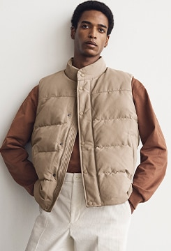 Quilted Puffer Vest image