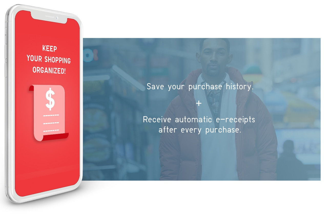 Save your purchase history