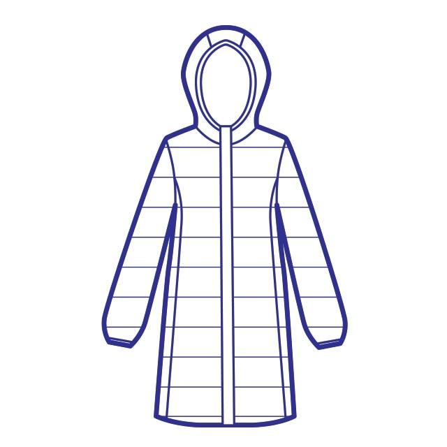 ULD Long Coat Women