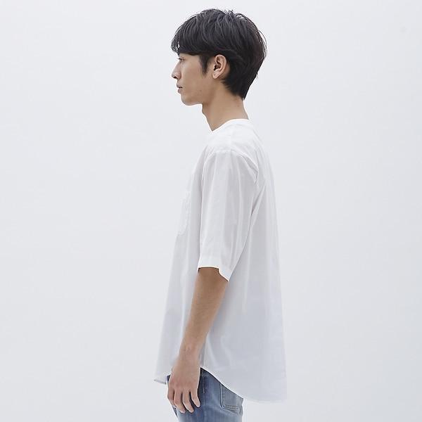 ビッグプルオーバーシャツ(5分袖)
