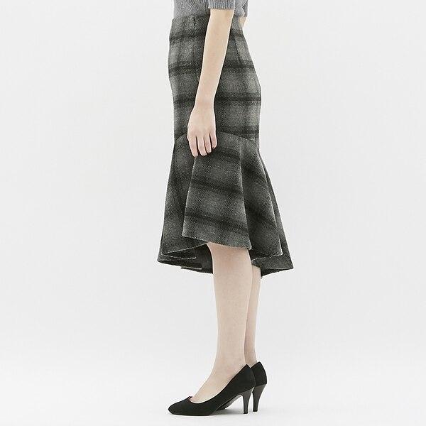 マーメイドスカート(チェック)