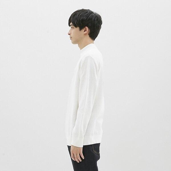 タックハイネックセーター(長袖)