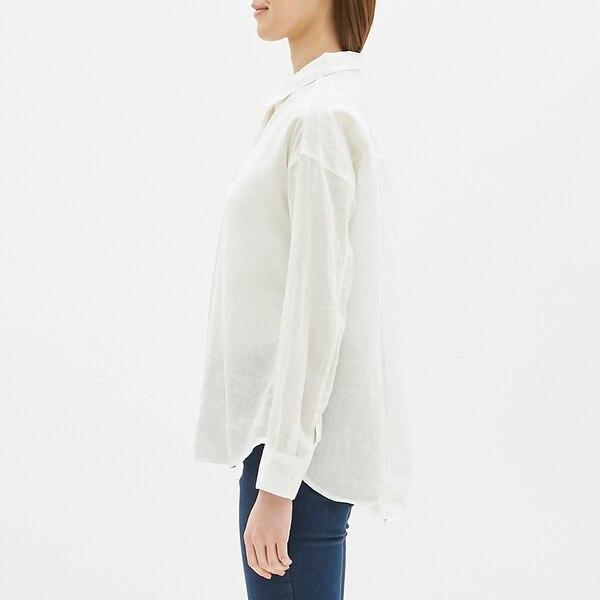 フレンチリネンシャツ(長袖)