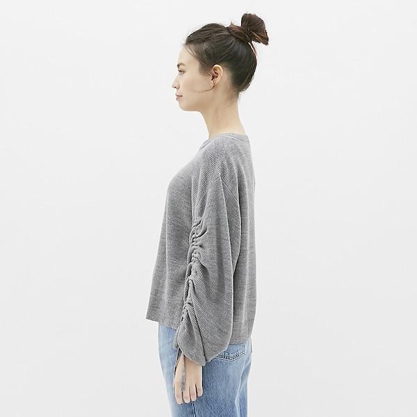 ドロストリングスリーブセーター(長袖)CL