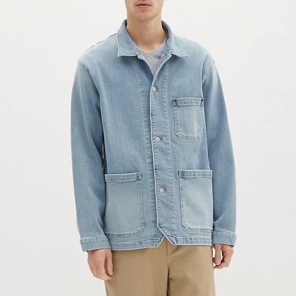 デニムワークジャケットJN-BLUE