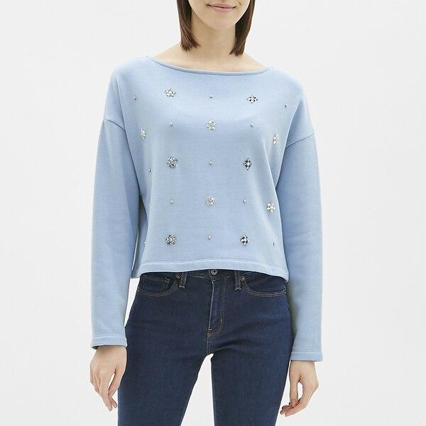 ビジュープルオーバー(長袖)CR-BLUE