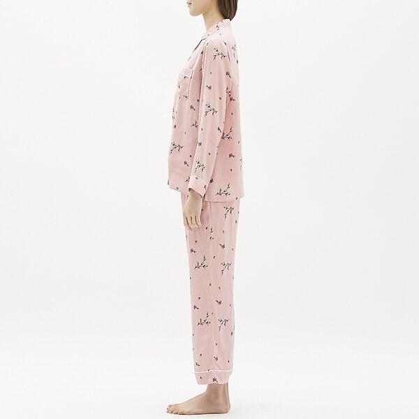 パジャマ(長袖)(フラワー)