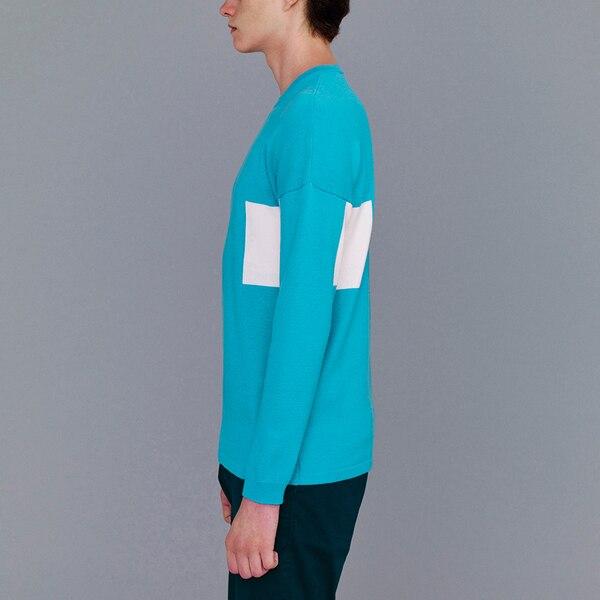カラーブロックセーター(長袖)(KJ)