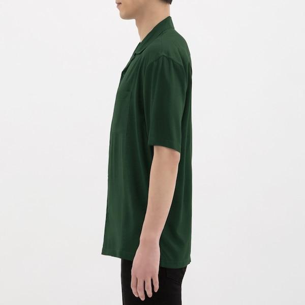 オープンカラーシャツ(半袖)