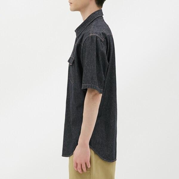 デニムウェスタンシャツ(半袖)