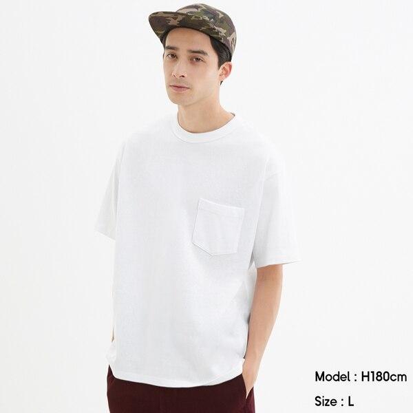 ヘビーウェイトビッグT(半袖)-WHITE
