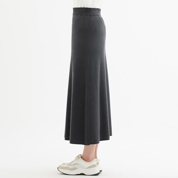 ニットフレアスカート+E