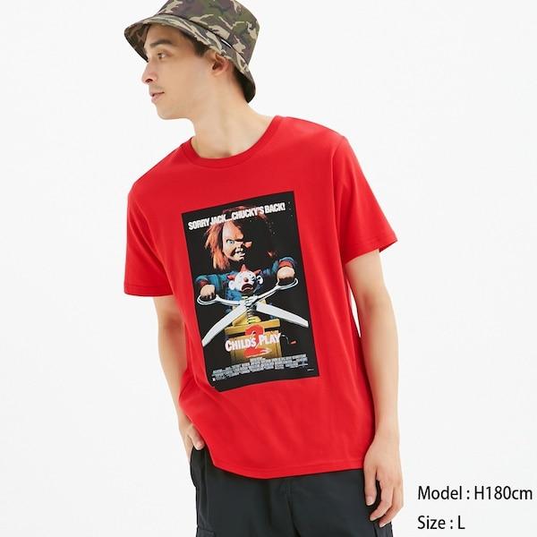 グラフィックT(半袖)CLASSIC FILM12-RED