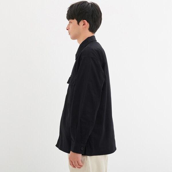 ミリタリーシャツ(長袖)+E